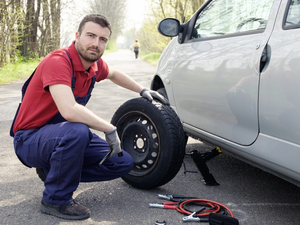 tire change service near me the woodlands tx